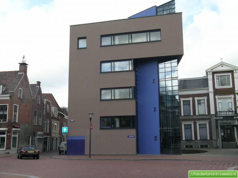 Leeuwarden nieuwestad luchtfoto 39 s foto 39 s nederland in - Eigentijds gebouw ...
