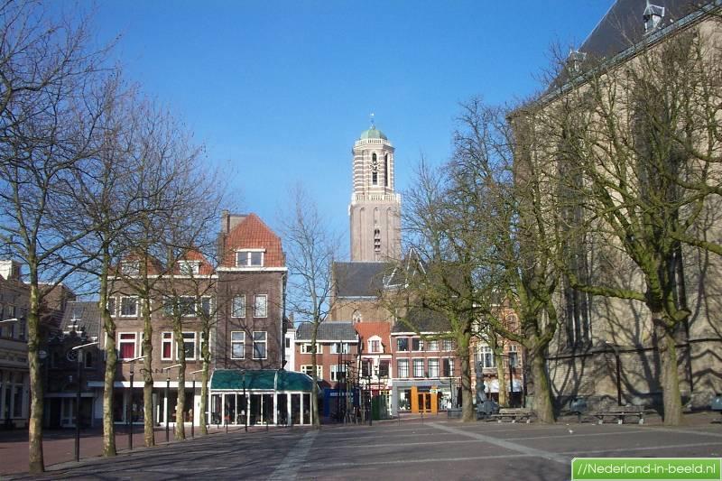 Zwolle • grote kerkplein 1 t m 15 • herfst 2005